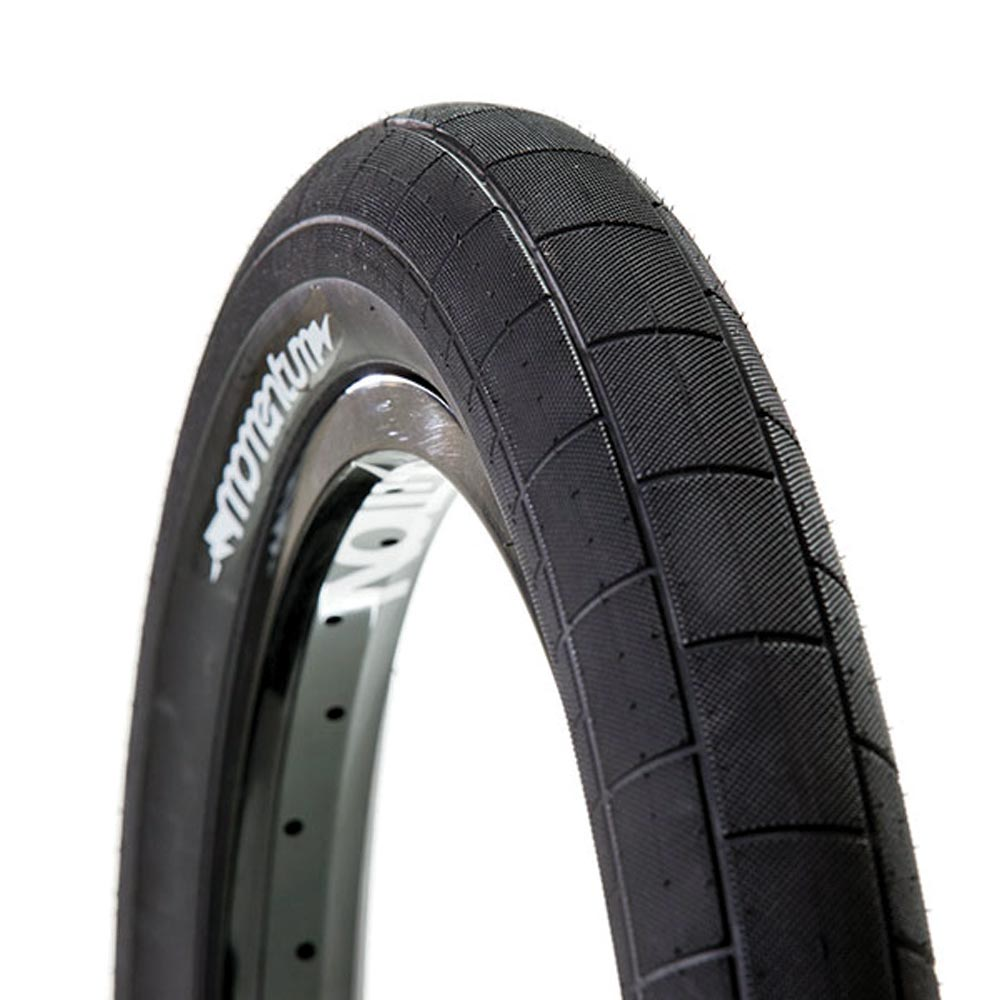 Demolition Momentum Tyre in grey with black side wall
