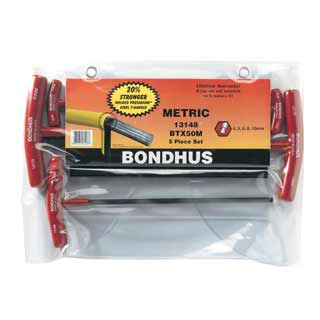 Bondhus Ball Hex T Handle Set