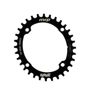 MRP WAVE RING 104/32T BLK OVAL