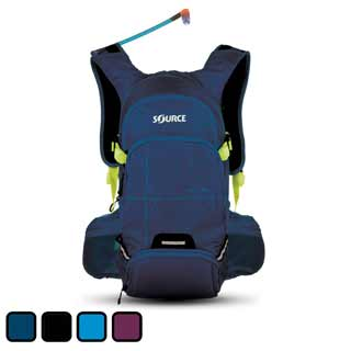 Source Ride Hydration Backpack in blue