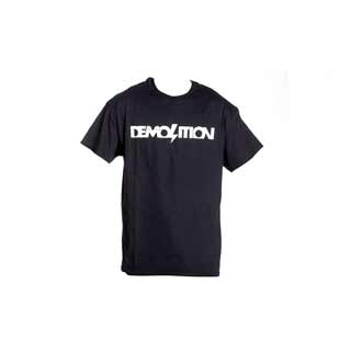 Demolition Black Logo t shirt