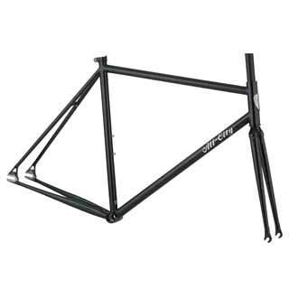 All City Big Block Frameset Sparkle green
