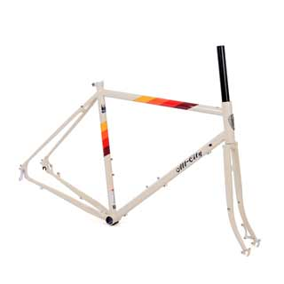 All City Space Horse Disc Frameset Cream