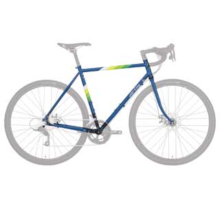 All City Space Horse Disc Frameset Blue