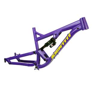 Identiti Mettle Frame in Purple