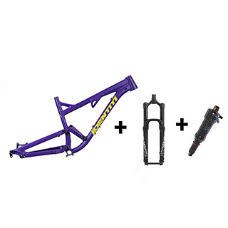 Identiti Mettle frame, fork and shock deal