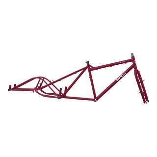 Surly Big Dummy Maroon Frameset