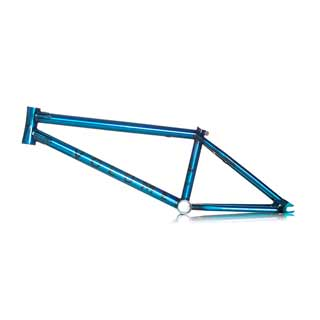 Volume BMX Voyager frame in Glacier Blue