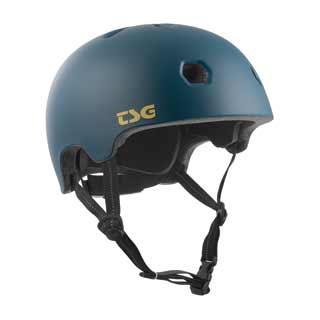 TSG Meta Helmet cyan