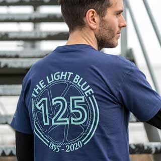 The Light Blue 125th Anniversary T-Shirt