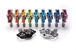 HT components T1 pedal full colour range