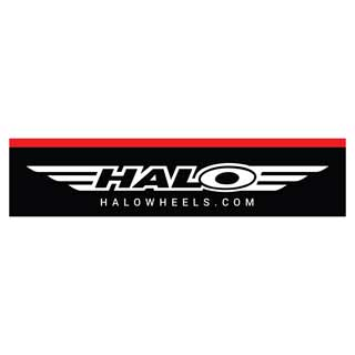 Halo Slatwall Logo Sign
