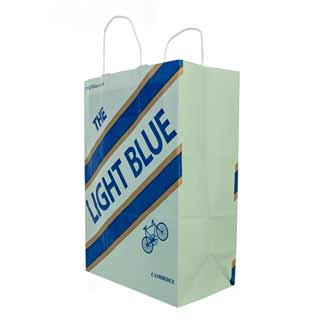 The Light Blue Paper Carrier Bag