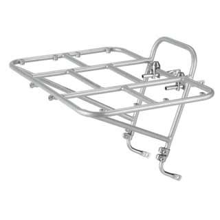 Surly 24 Pack front rack in silver