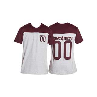 DEMOLN 00 JERSEY TEE Lg RED