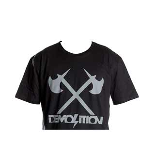 DEMOLITION AXES TEE XXL BLK