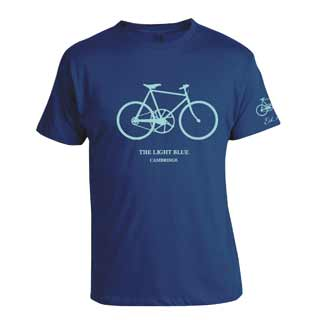The Light Blue Bicycle T-Shirt