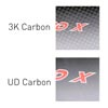 image of 3K and UD Carbon Finishes