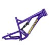 image of Identiti mettle, large, purple with RockShox Deluxe shock