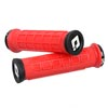 image of ODI Elite Pro Lock-On Grips in red