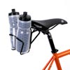 image of Passport Double Back Mount shown fitted with cages and bottles
